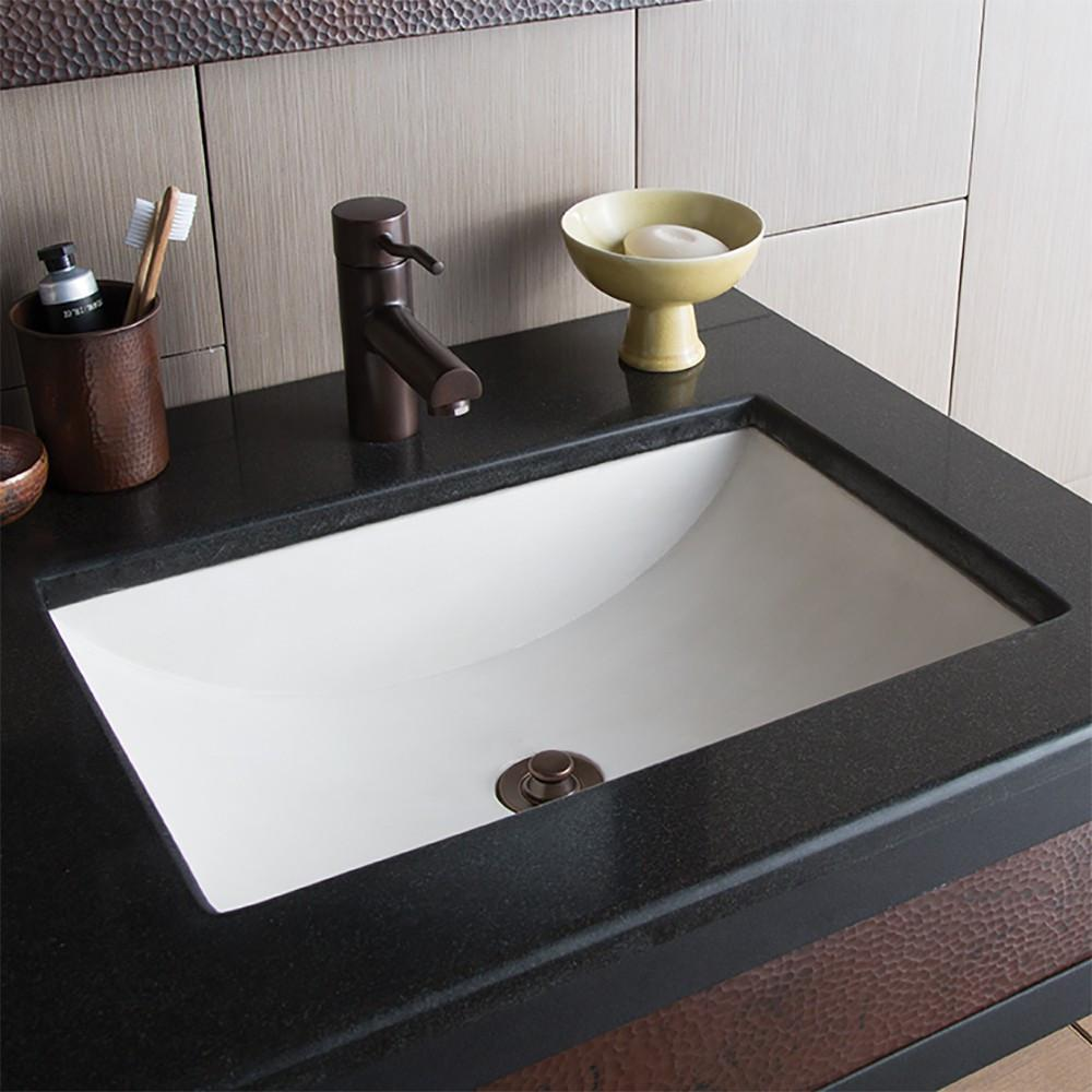 Cabrillo Dual Mount Rectangular Bathroom Sink Native Trails