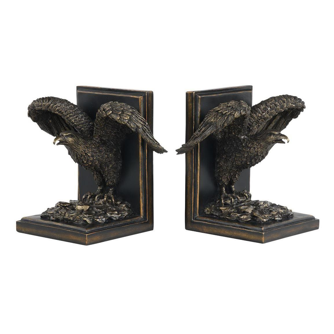 Cal Lighting Eagle Bookends Decorative