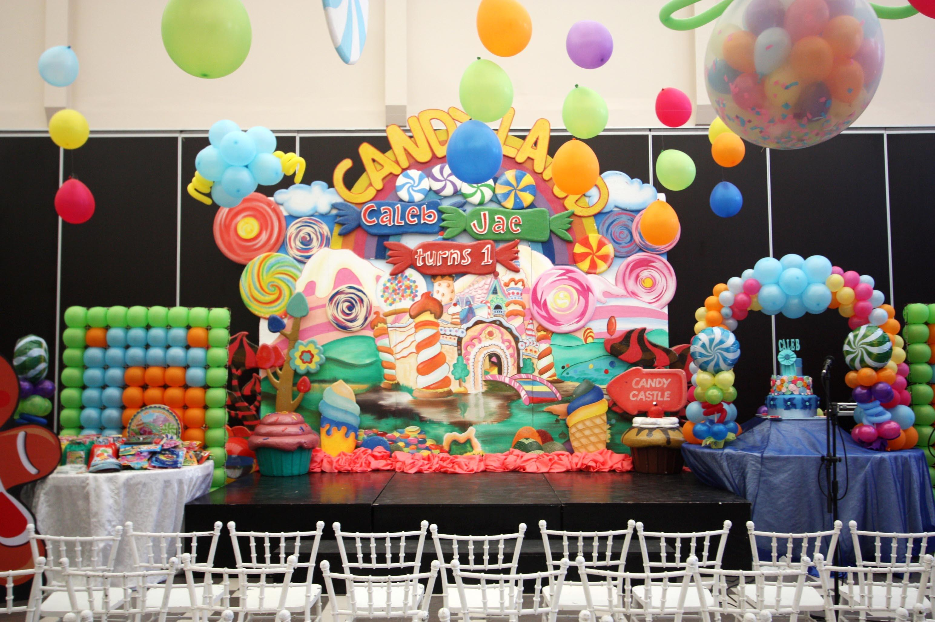 Caleb Candyland Birthday Hanging Gardens Events Venue