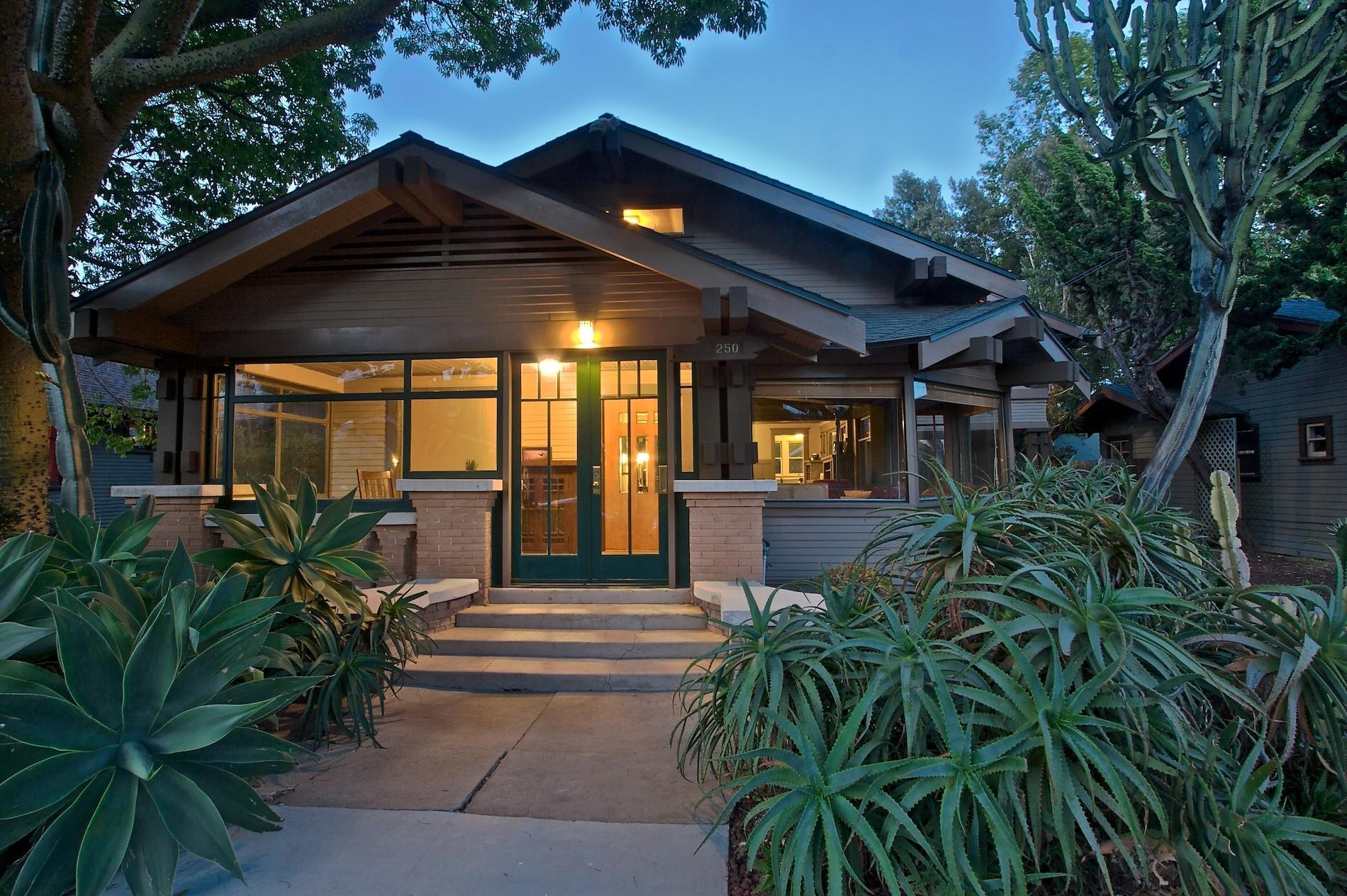 California Bungalow Craftsman Real Estate Clipgoo