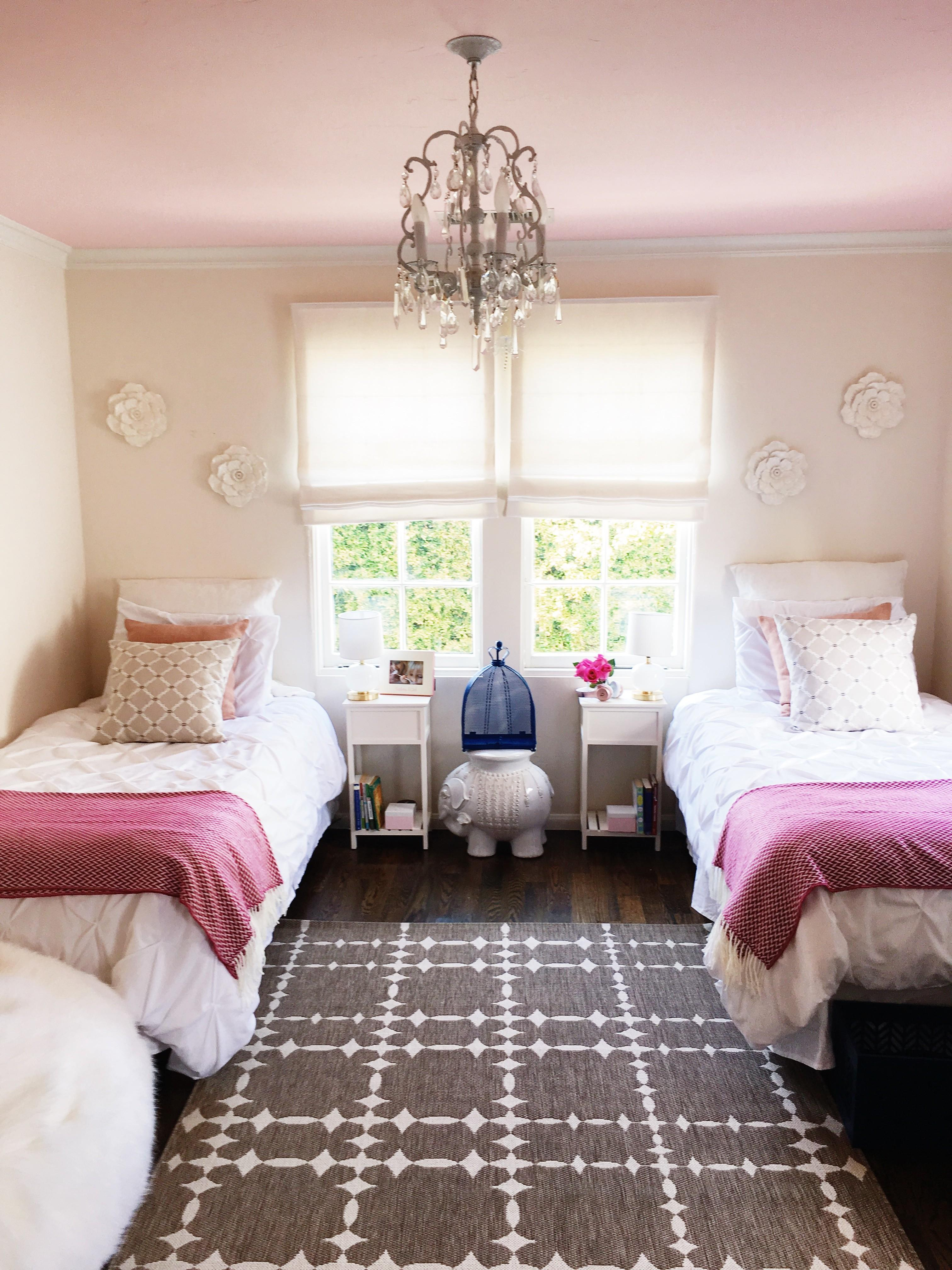 California Girls Room Makeover Easy Paint Ideas Cococozy