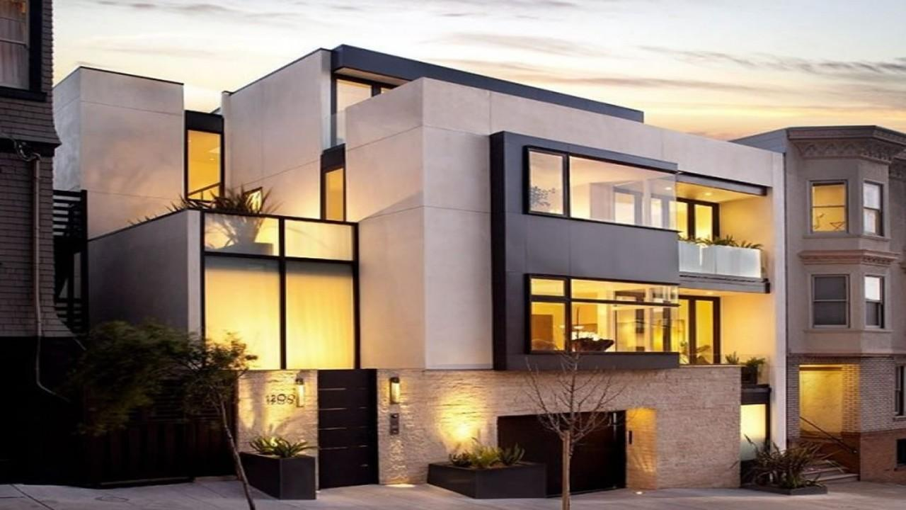 California Modern Apartments Luxury Home Exterior