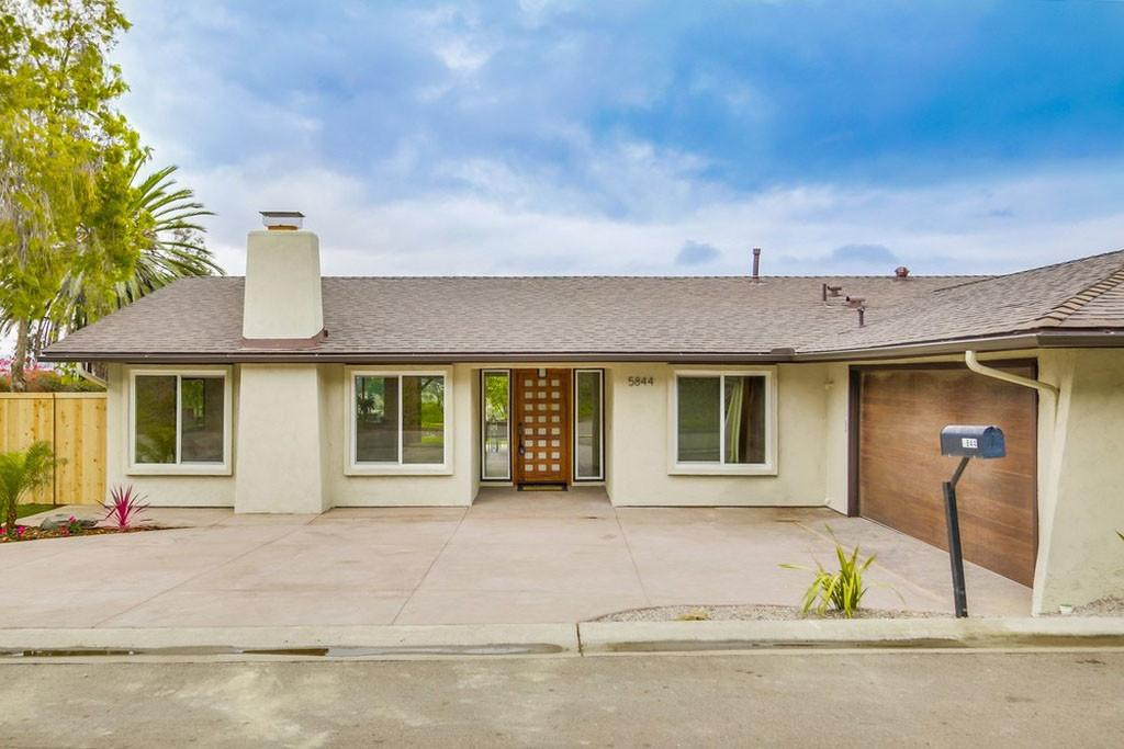 Californian Ranch Style Bungalow House Modern Flair