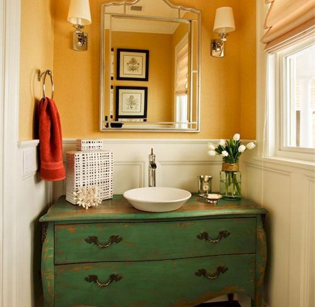 Calm Powder Room Paint Colors Ideas