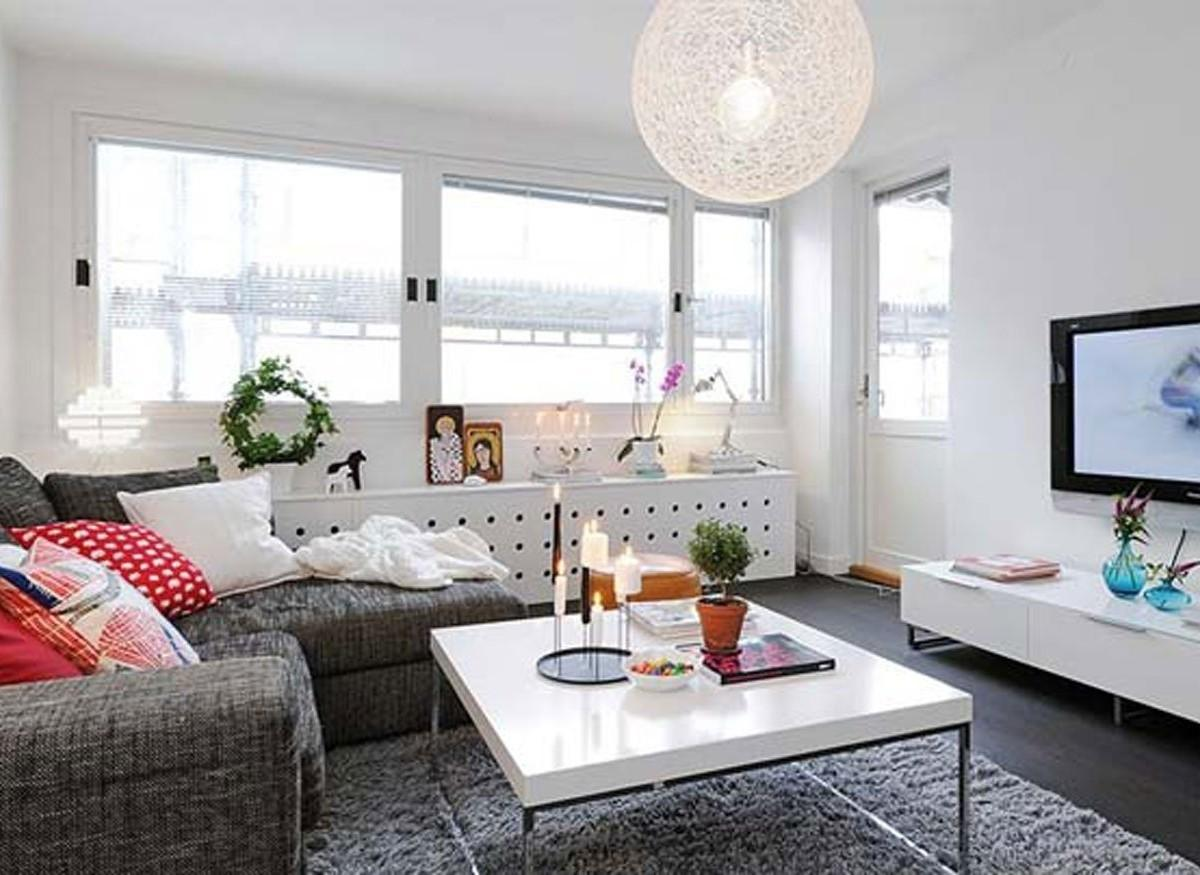 Calmly Warsaw Withtasteful Decor Small Studio Apartment