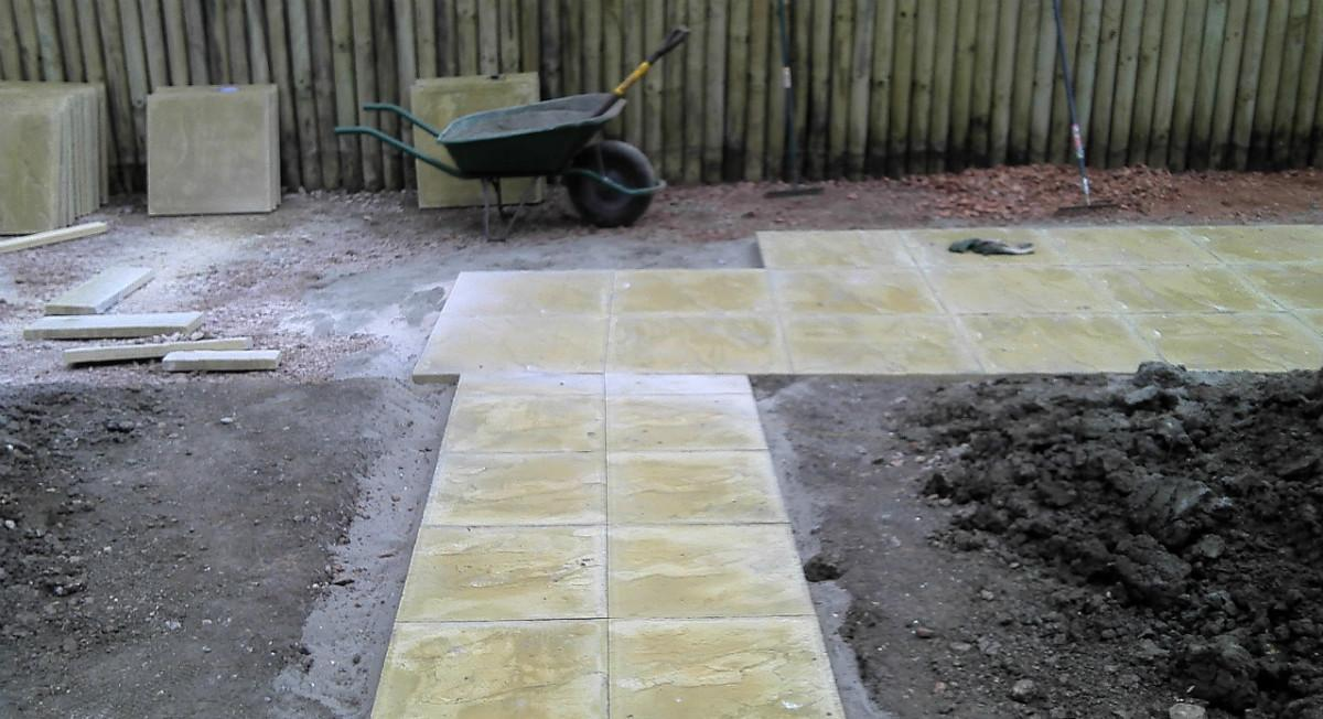Calne Path Patio Create Landscaping
