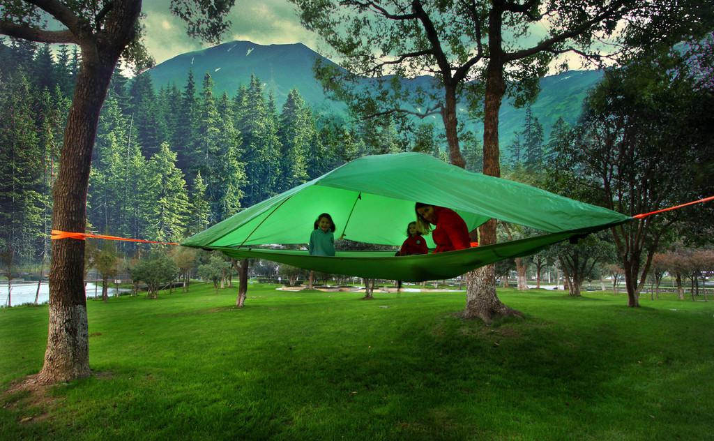 Camp Air New Suspended Treehouse Tents