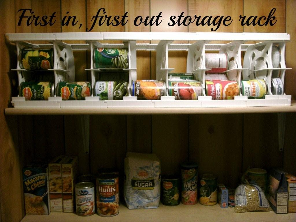 Can Canned Food Goods Storage Rack Best Pantry
