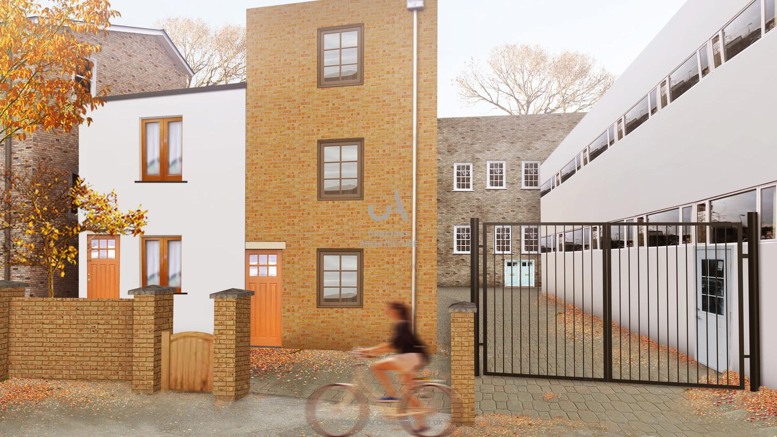 Can Get Planning Permission Build Storey Front