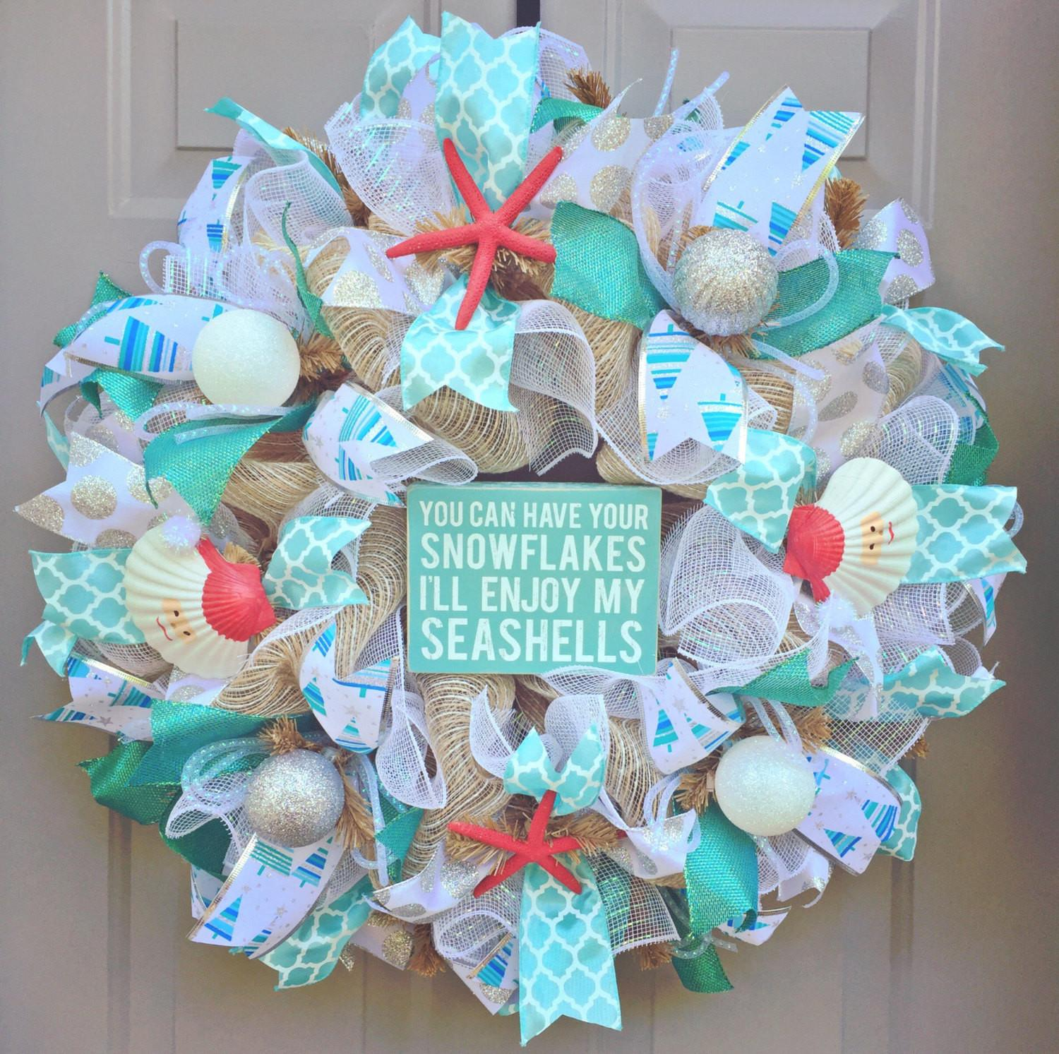 Can Have Your Snowflakes Enjoy Seashells