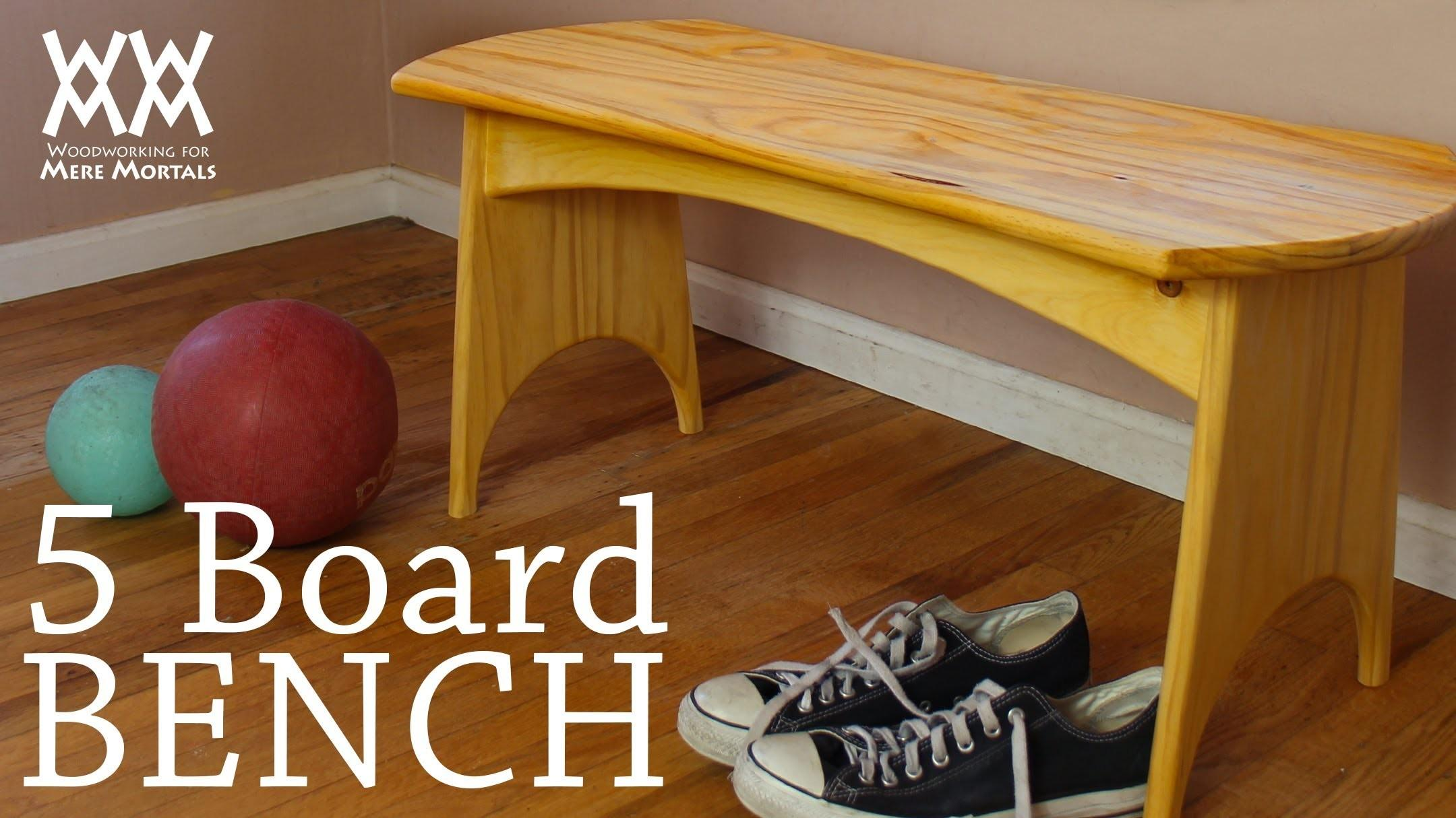 Can Make Five Board Bench Weekend Fun