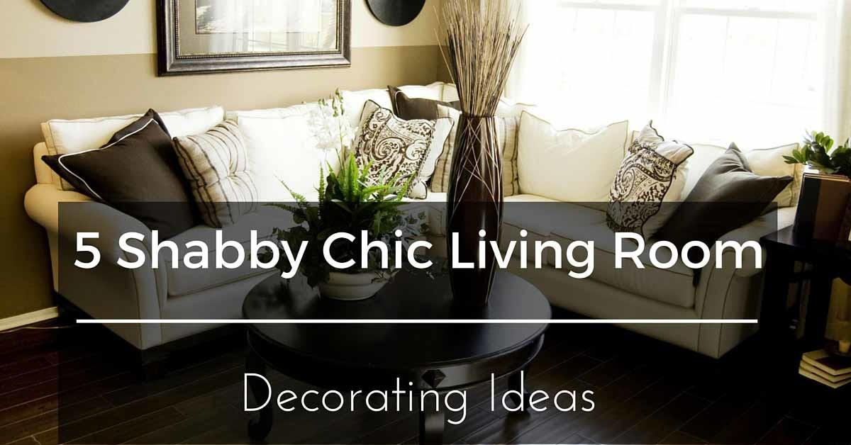 Can Shabby Chic Furniture Fit Living Room