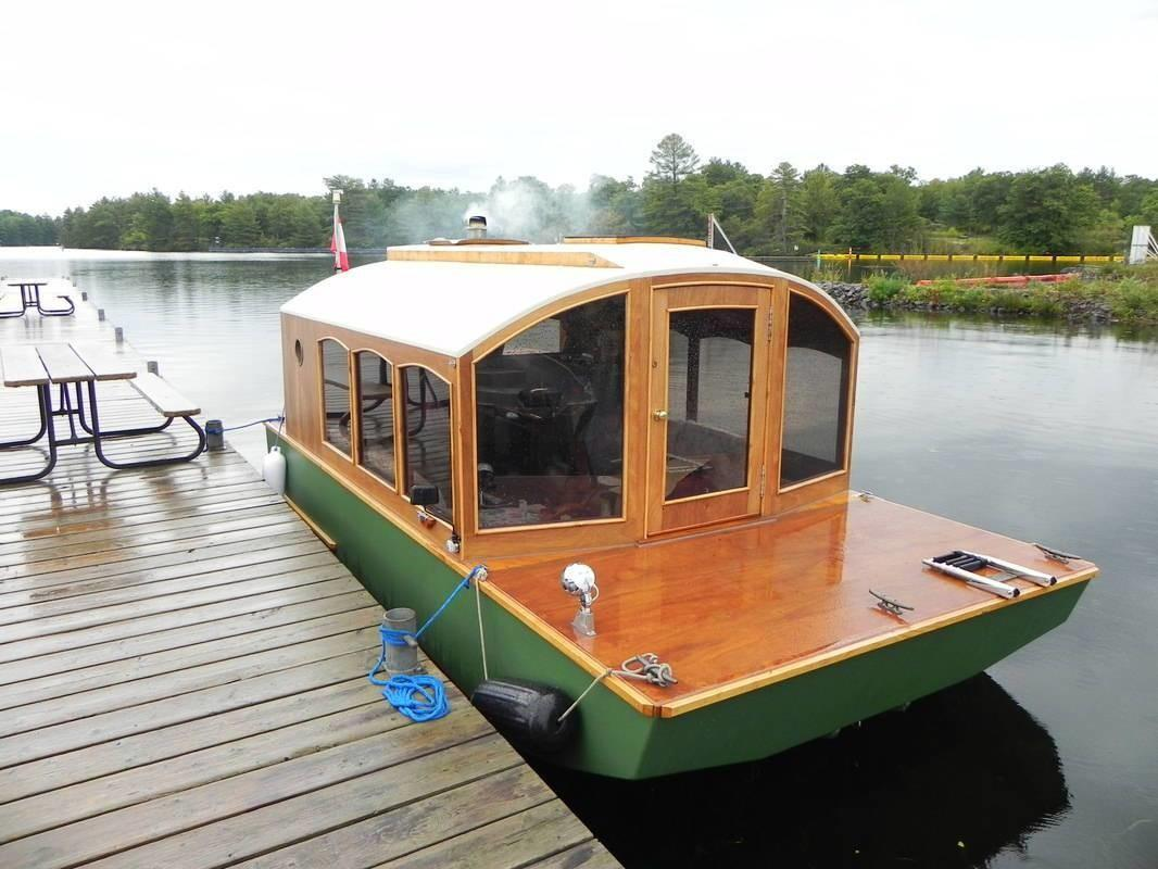Canadian Cabinetmaker Builds Diy Mico Houseboat