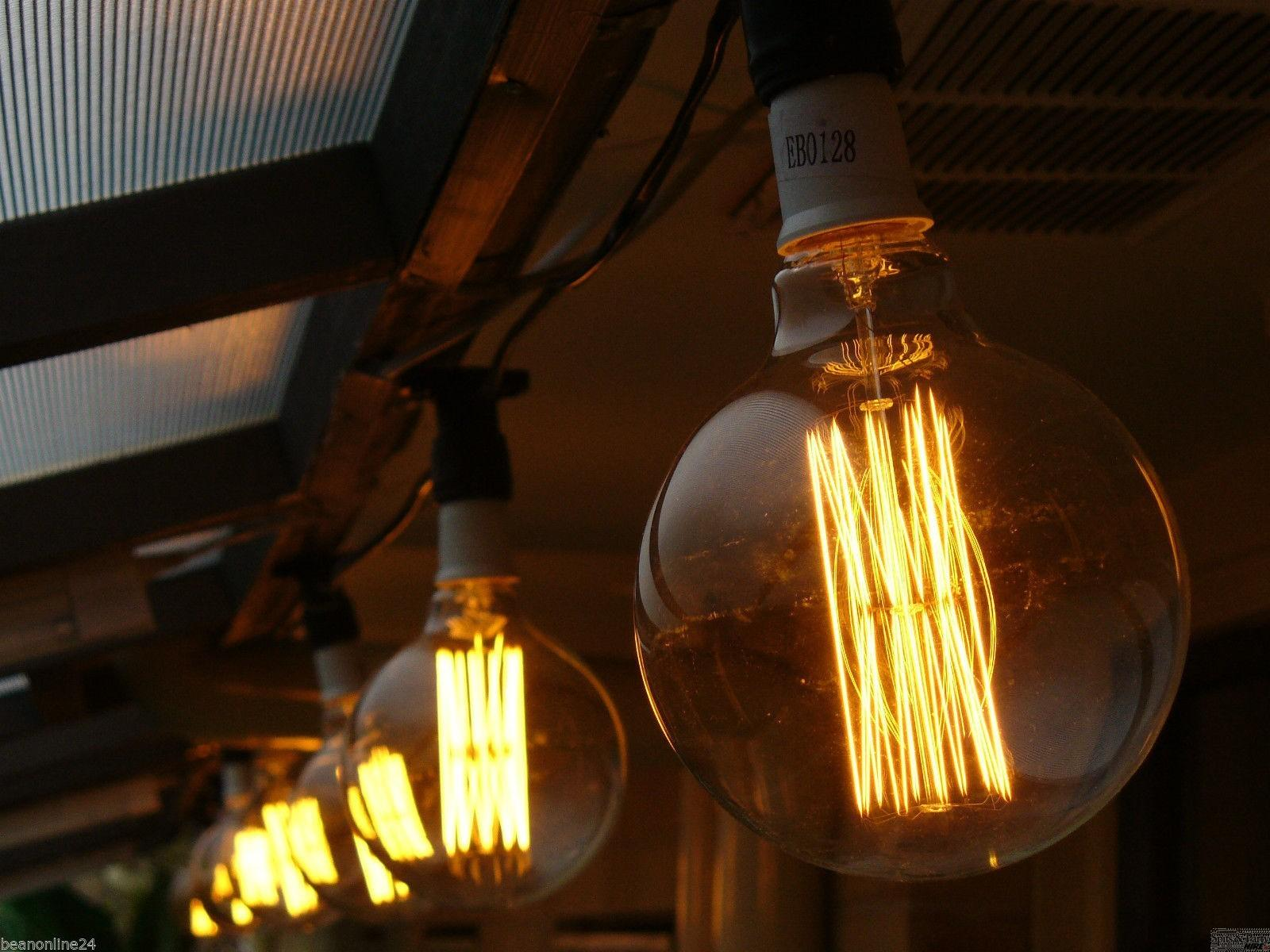 Canberra Spits Party Hire Vintage Edison Lights