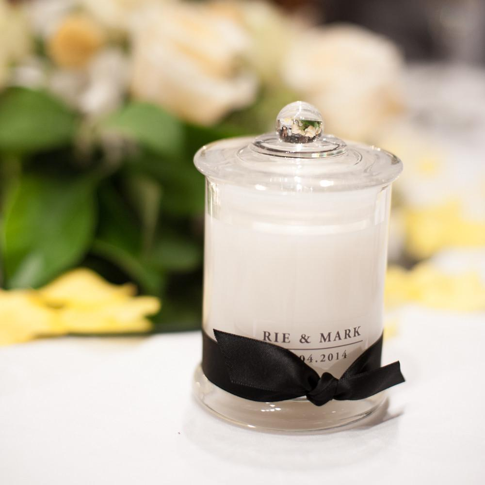 Candle Bomboniere French Jar Style Medium Pretty Creations