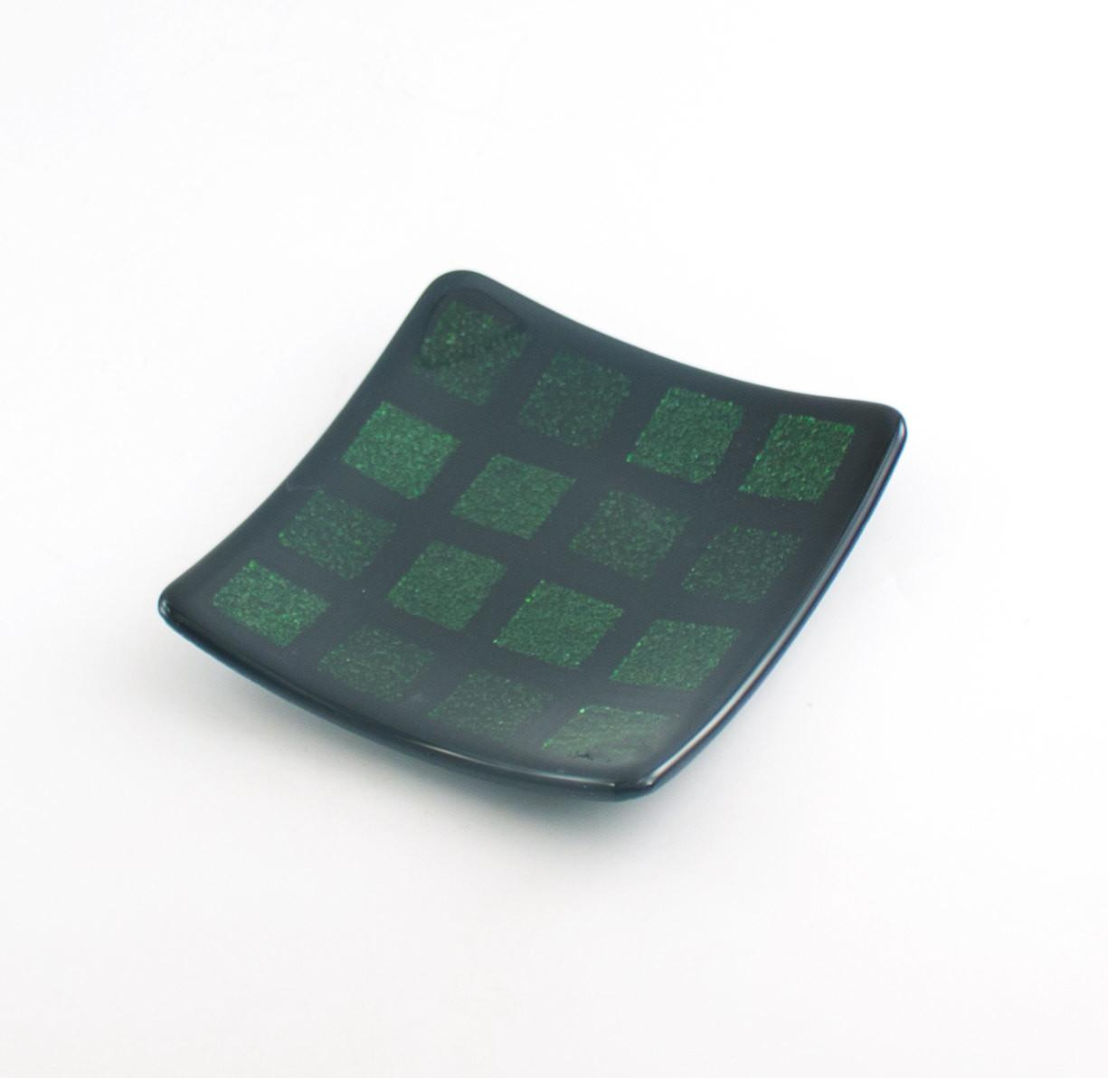 Candle Dish Catch All Tray Modern Plate Decorative Glass