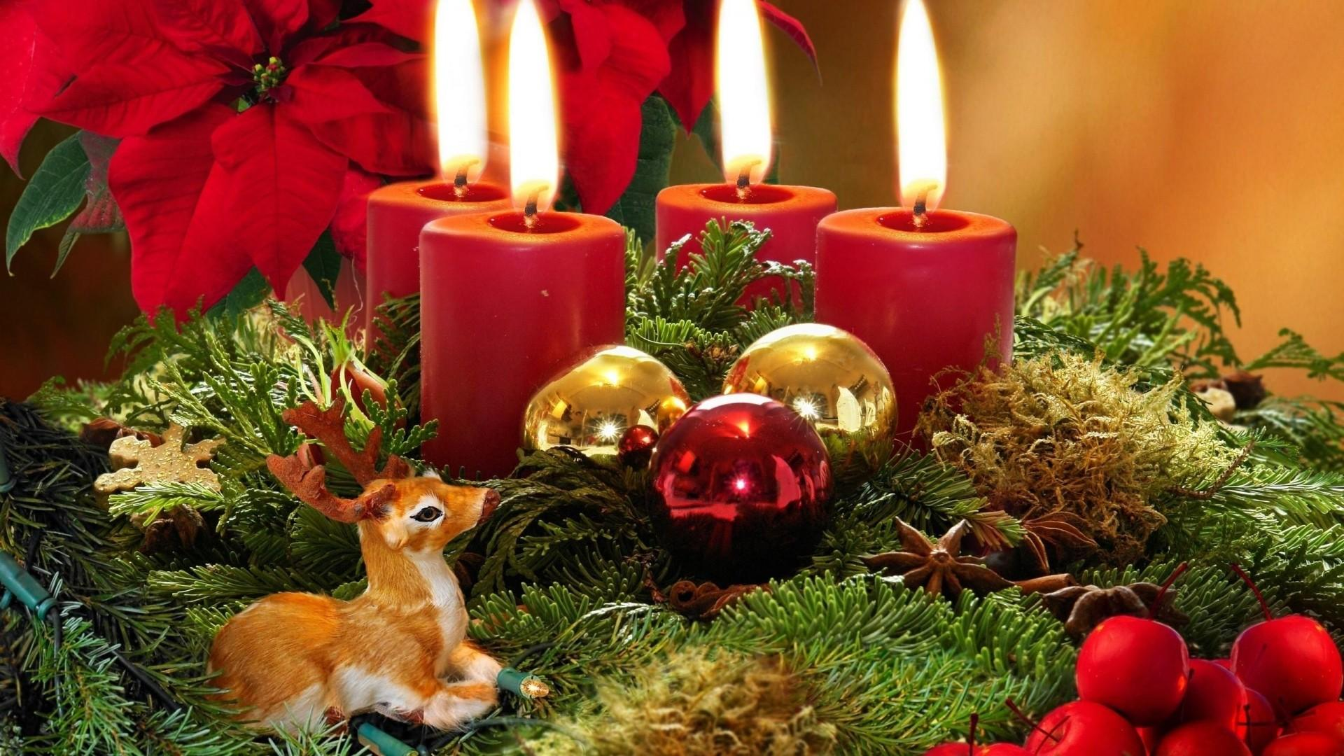 Candles Decorations Christmas 9424