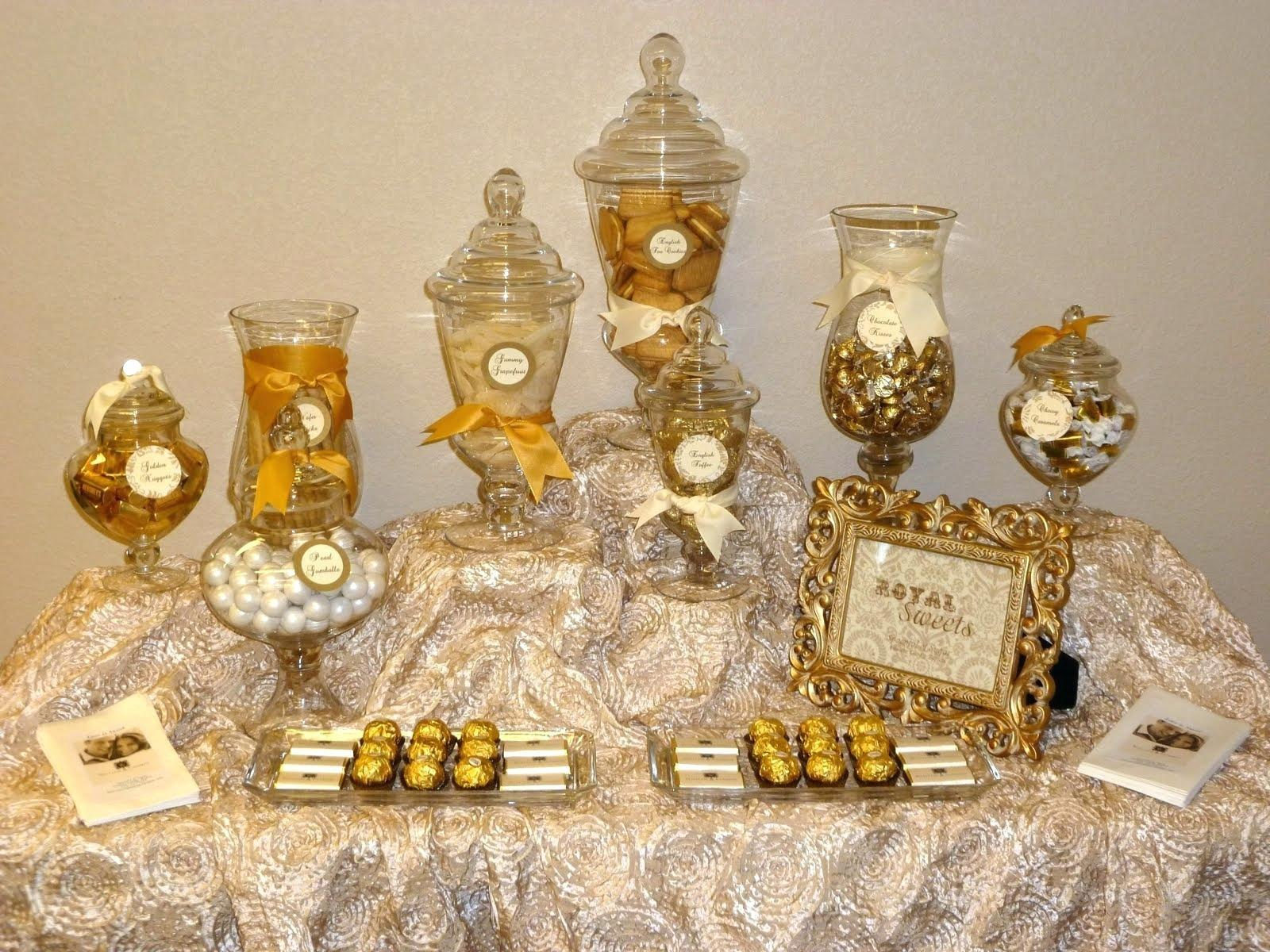 Candy Buffet Jars Apothecary Tips