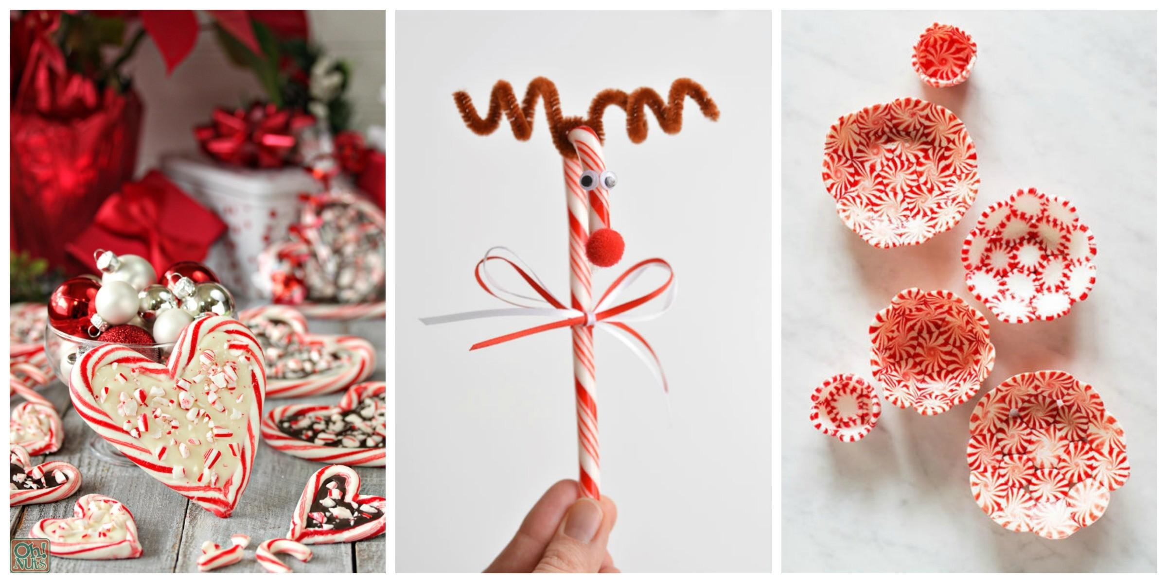 Candy Cane Crafts Diy Decorations Canes
