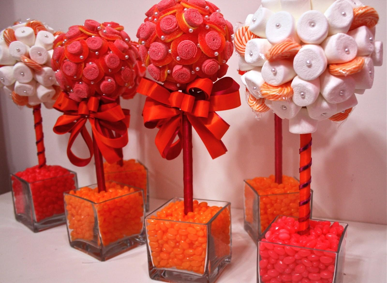 Candy Centerpieces Mitzvah Themed Favors Decor