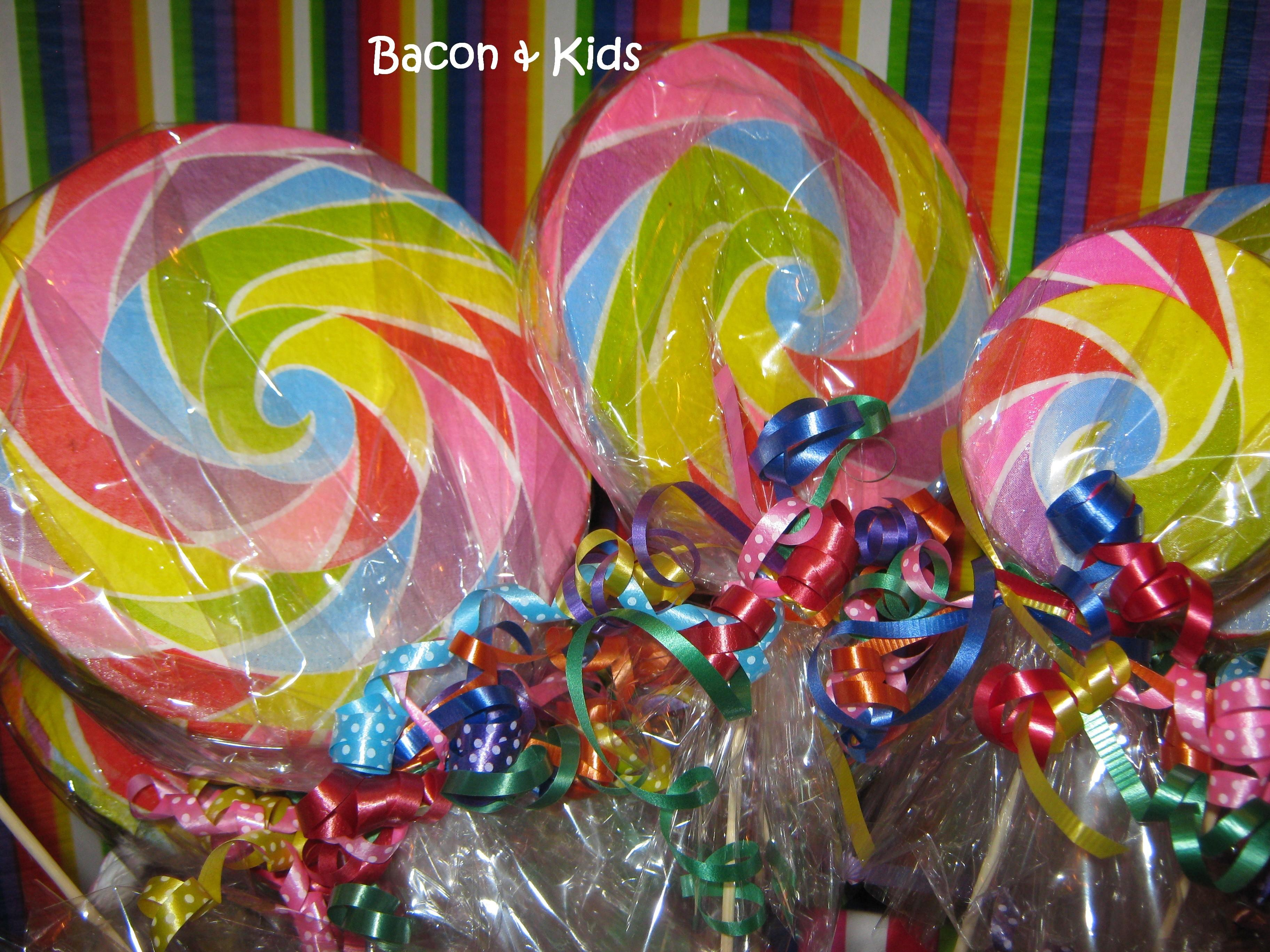 Candy Party Making Decorations Bacon Kids