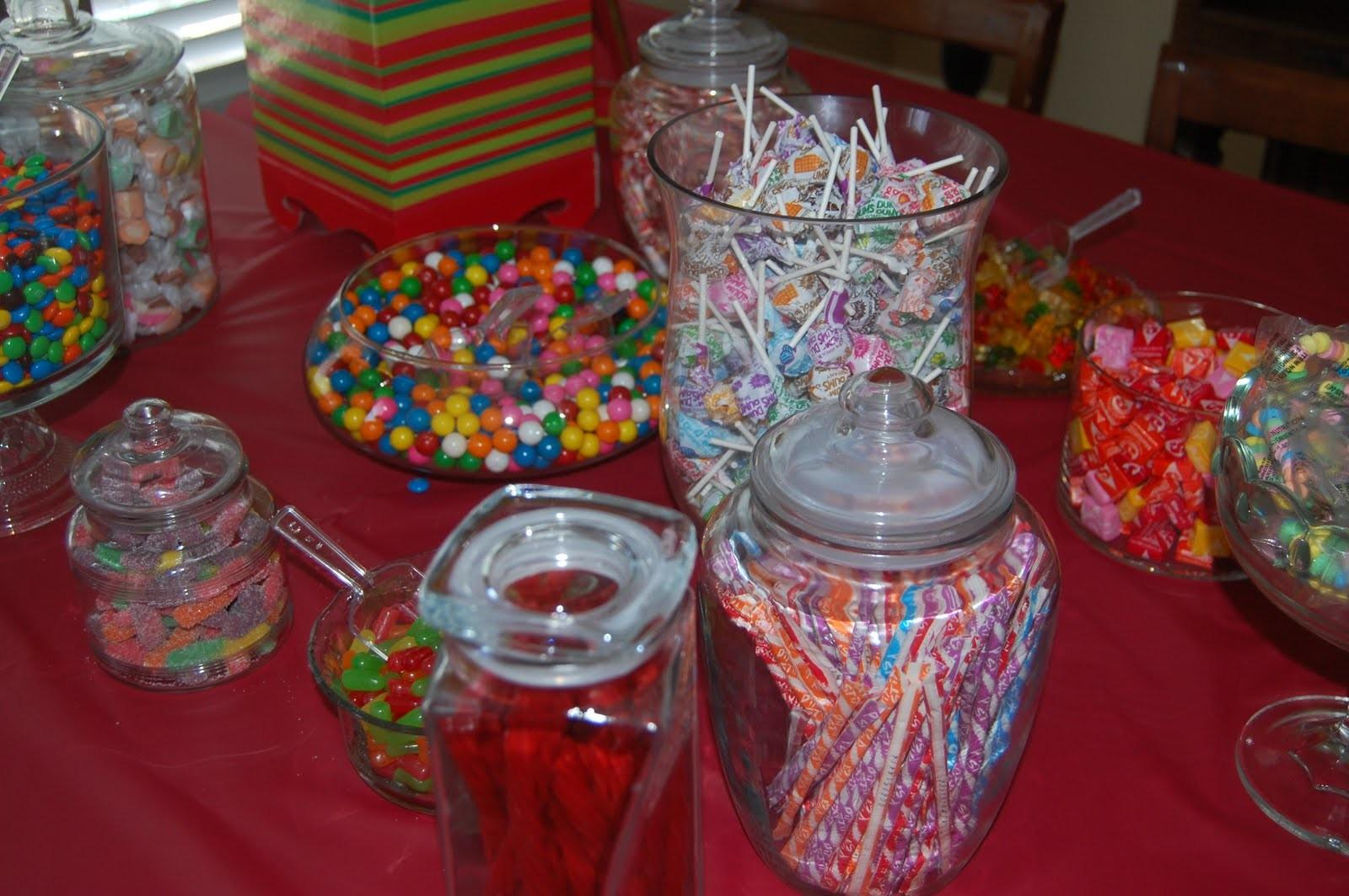 Candy Table Ideas Birthday Party Photograph Buff