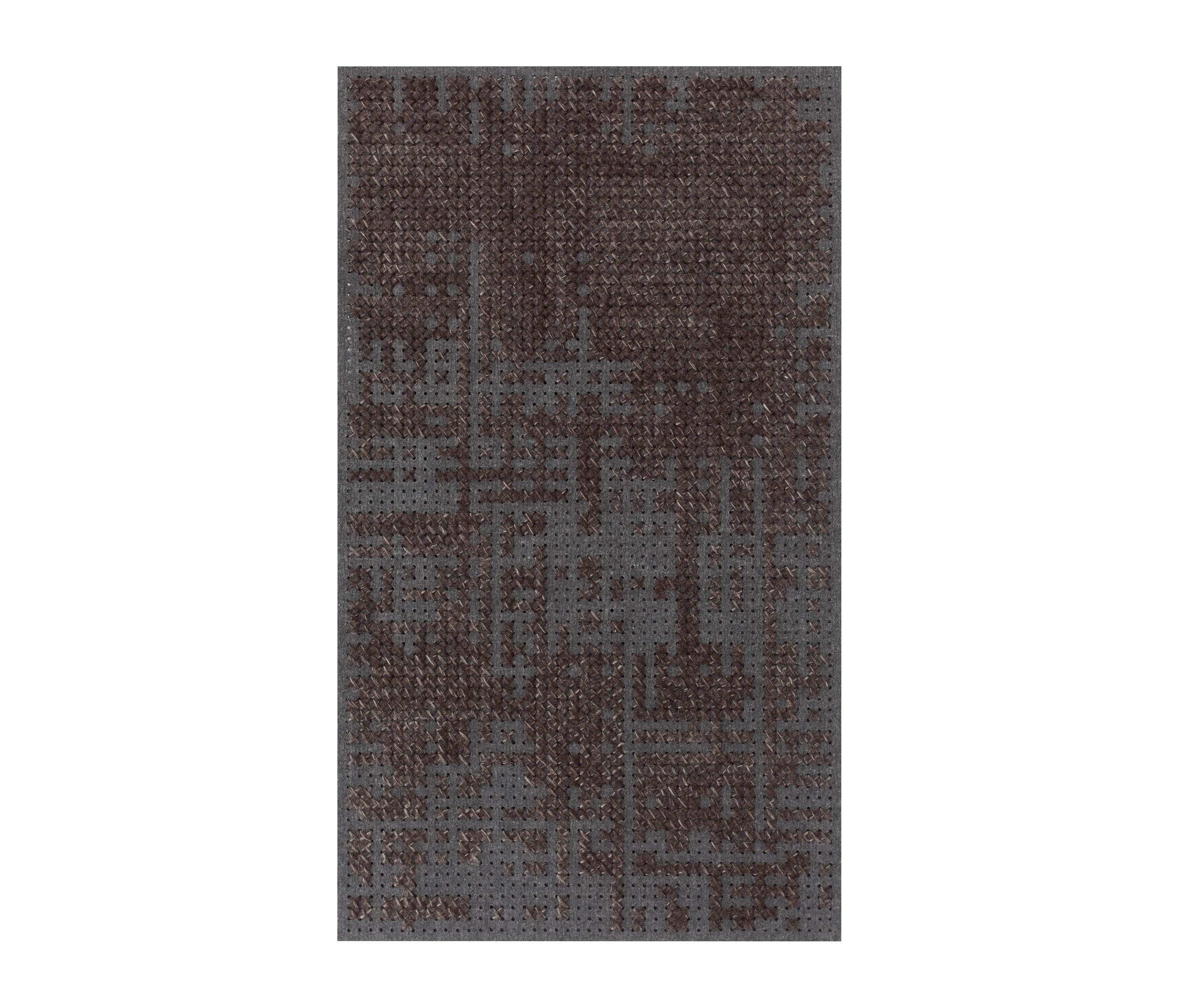 Canevas Rug Abstract Charcoal Rugs Designer