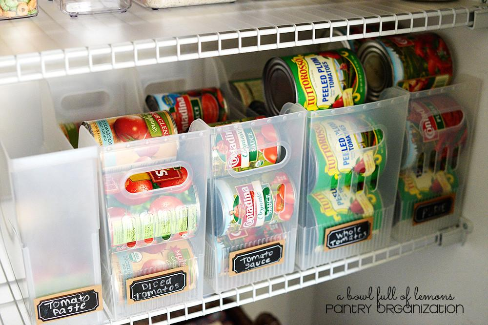 Canned Food Storage Ideas Organize Your Pantry
