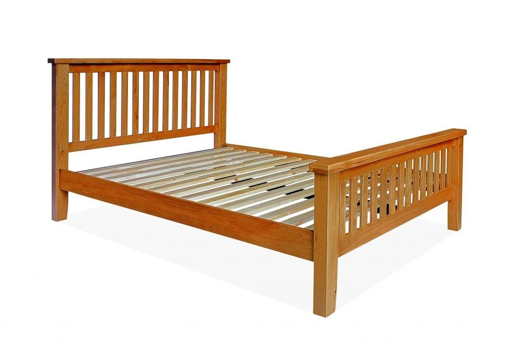 Canterbury Double High End Bed