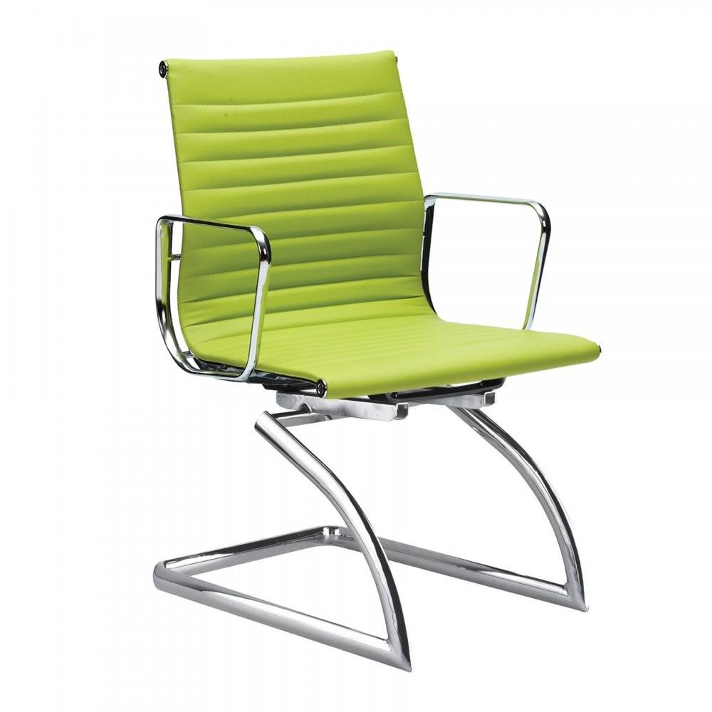 Cantilever Style Apple Green Conference Chair Cult