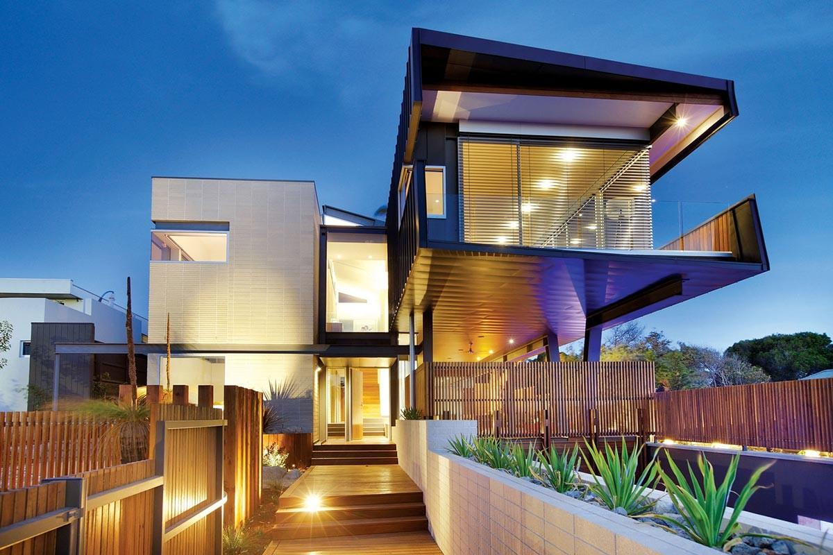 Cantilevered House Melbourne Australia