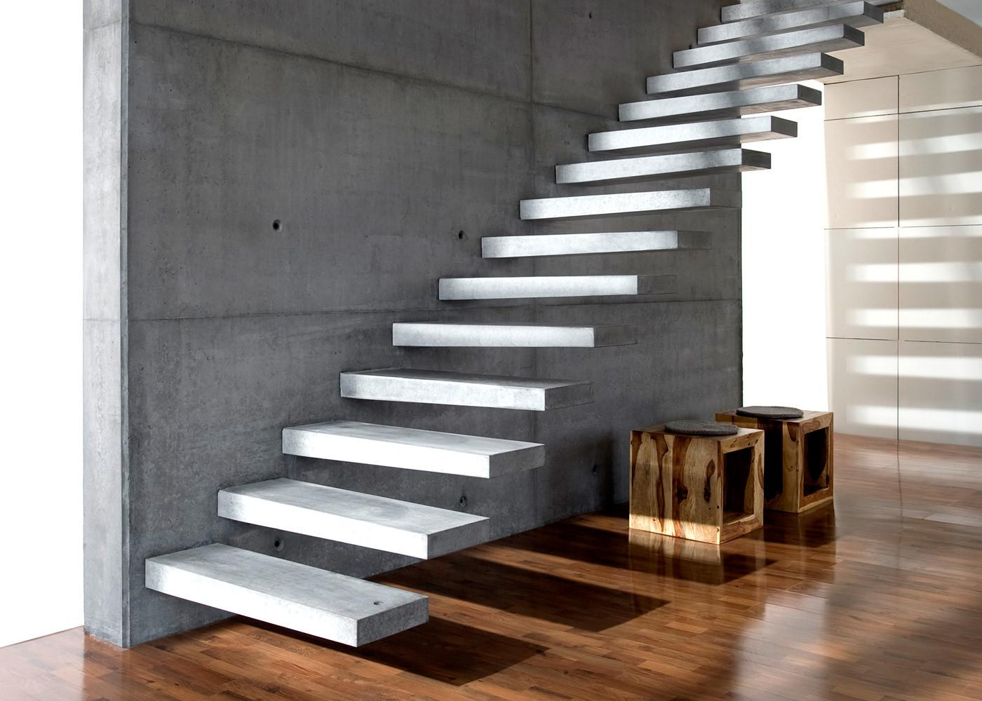 Cantilevered Stairs Kevala