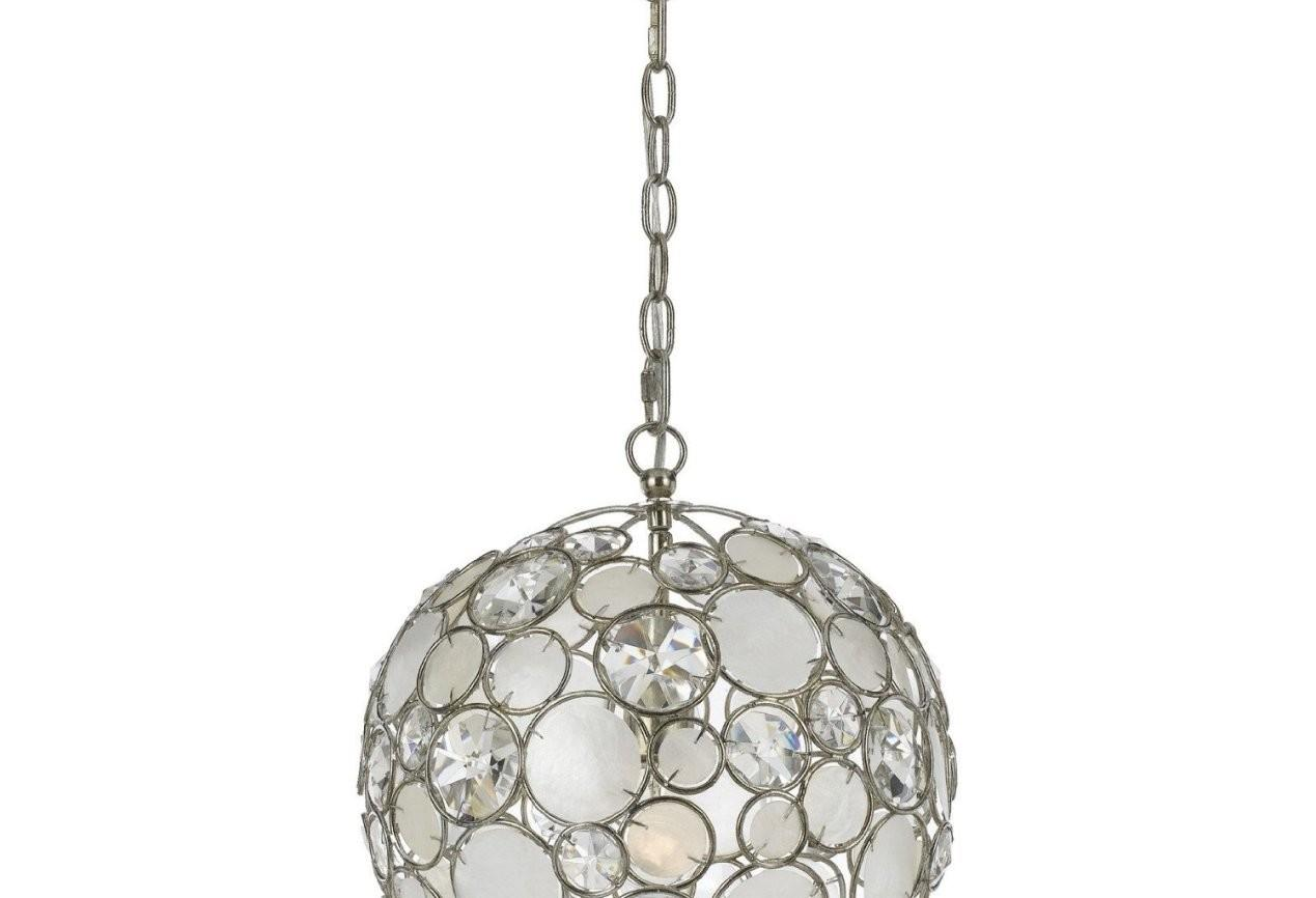 Capiz Shell Chandelier One Light Offu2026