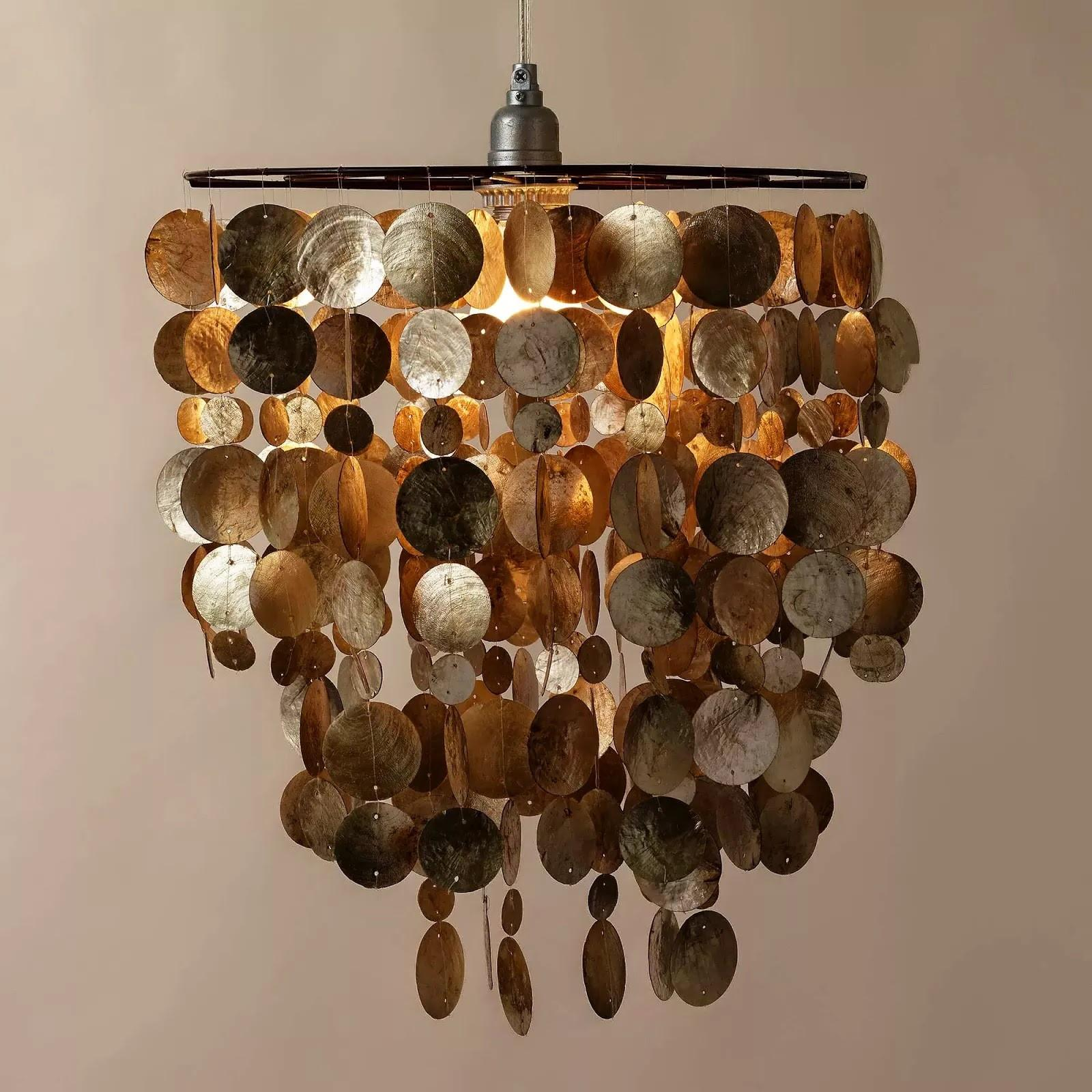 Capiz Shell Lamp Shade Home Combo