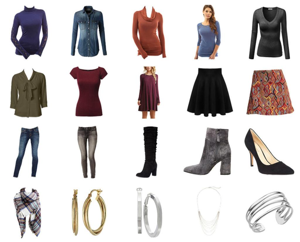 Capsule Wardrobe Fall 2016 Ginger Collection