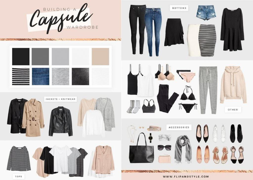 Capsule Wardrobe Need Know Outfit Ideas
