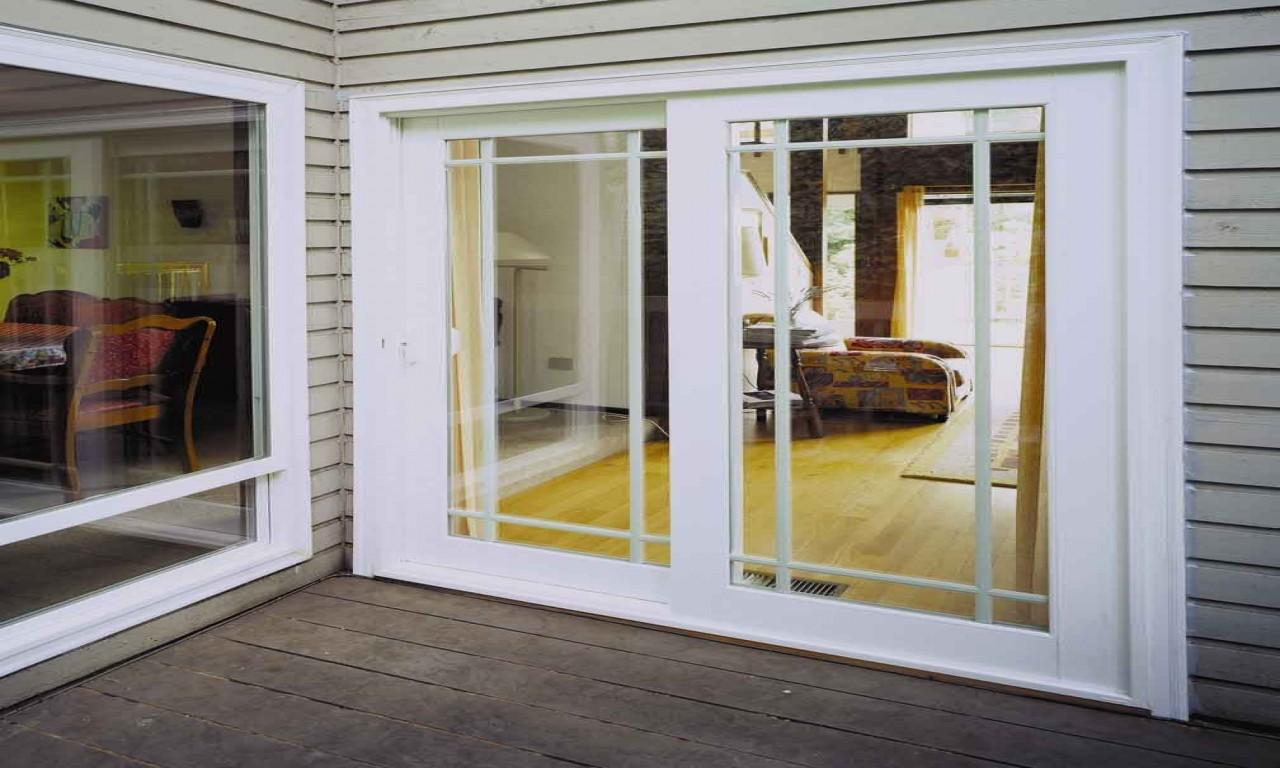 Captivating Pella French Doors Outside Patio
