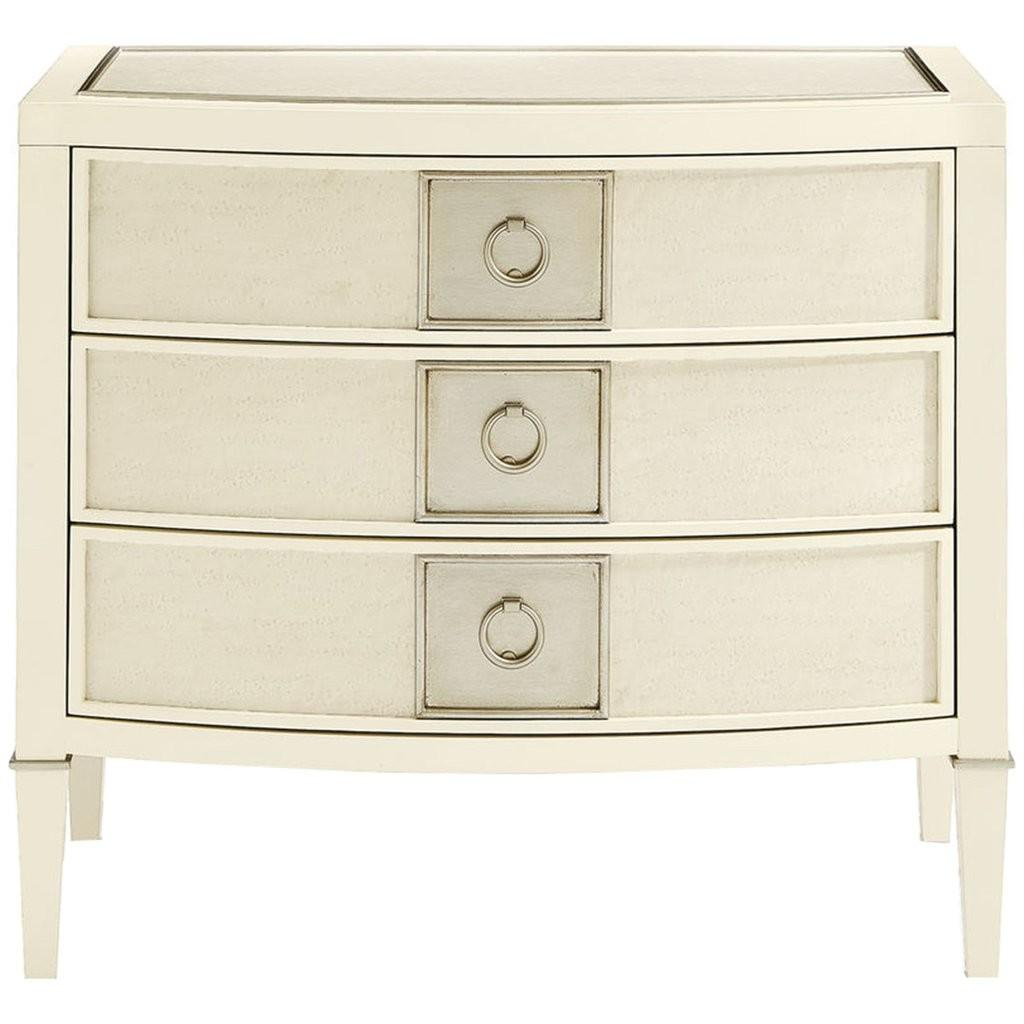 Caracole Classic Eye Catching Nightstand Bedside Tables