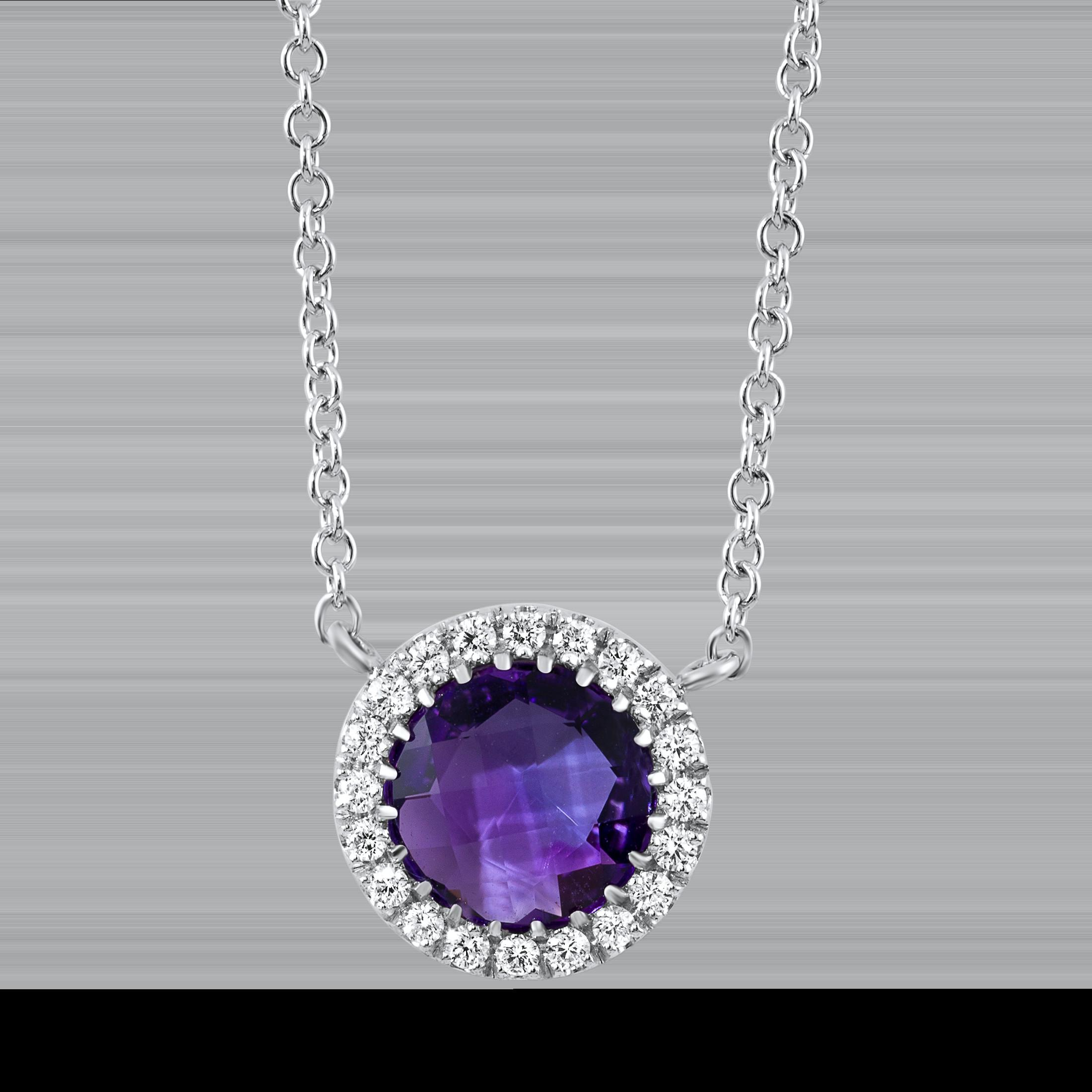 Carat Diamond Necklace Diamondland