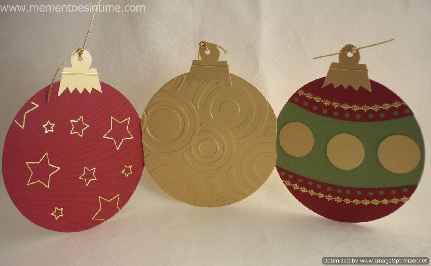 Card Christmas Decorations Template Business