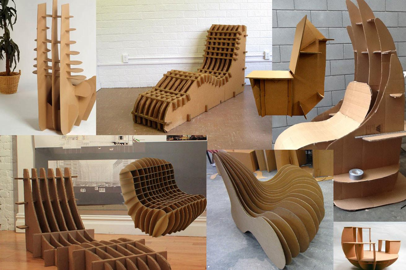 Cardboard Chair Jason Azares