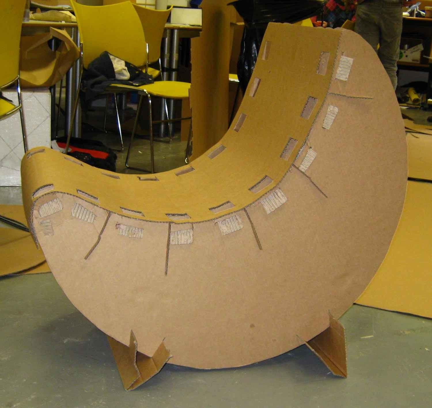 Cardboard Chair Project Designs Chairdsgn