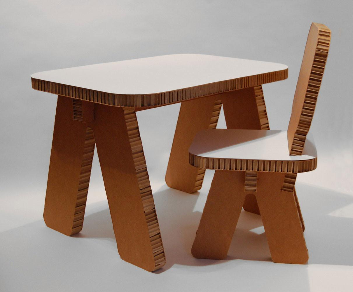 Cardboard Furniture Design Ideas Home Architecture