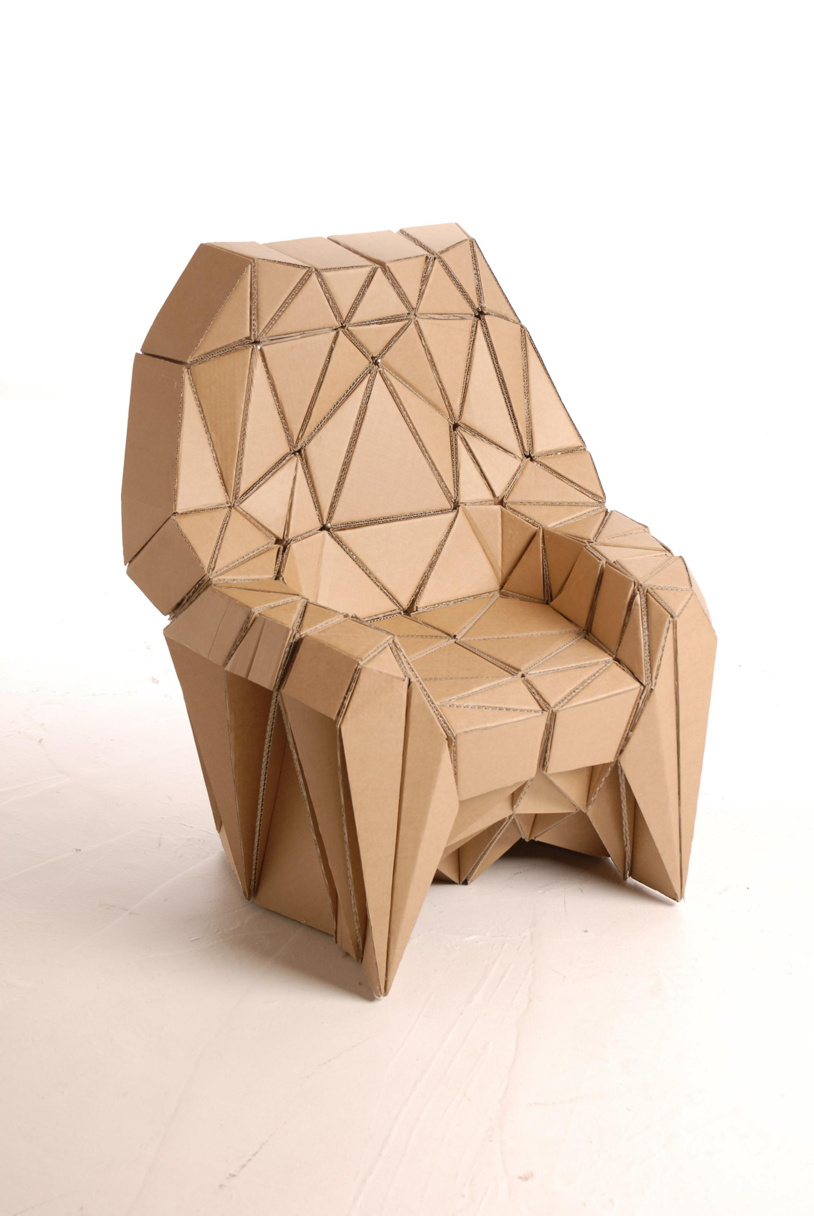 Cardboard Furniture Lazerian Studio Despoke