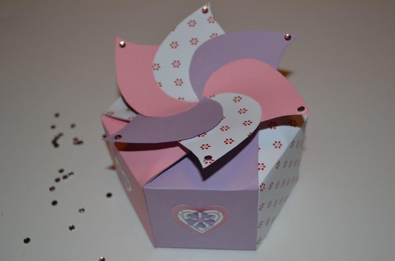 Cardboard Hexagonal Box Diy Paper Crafts Tutorials