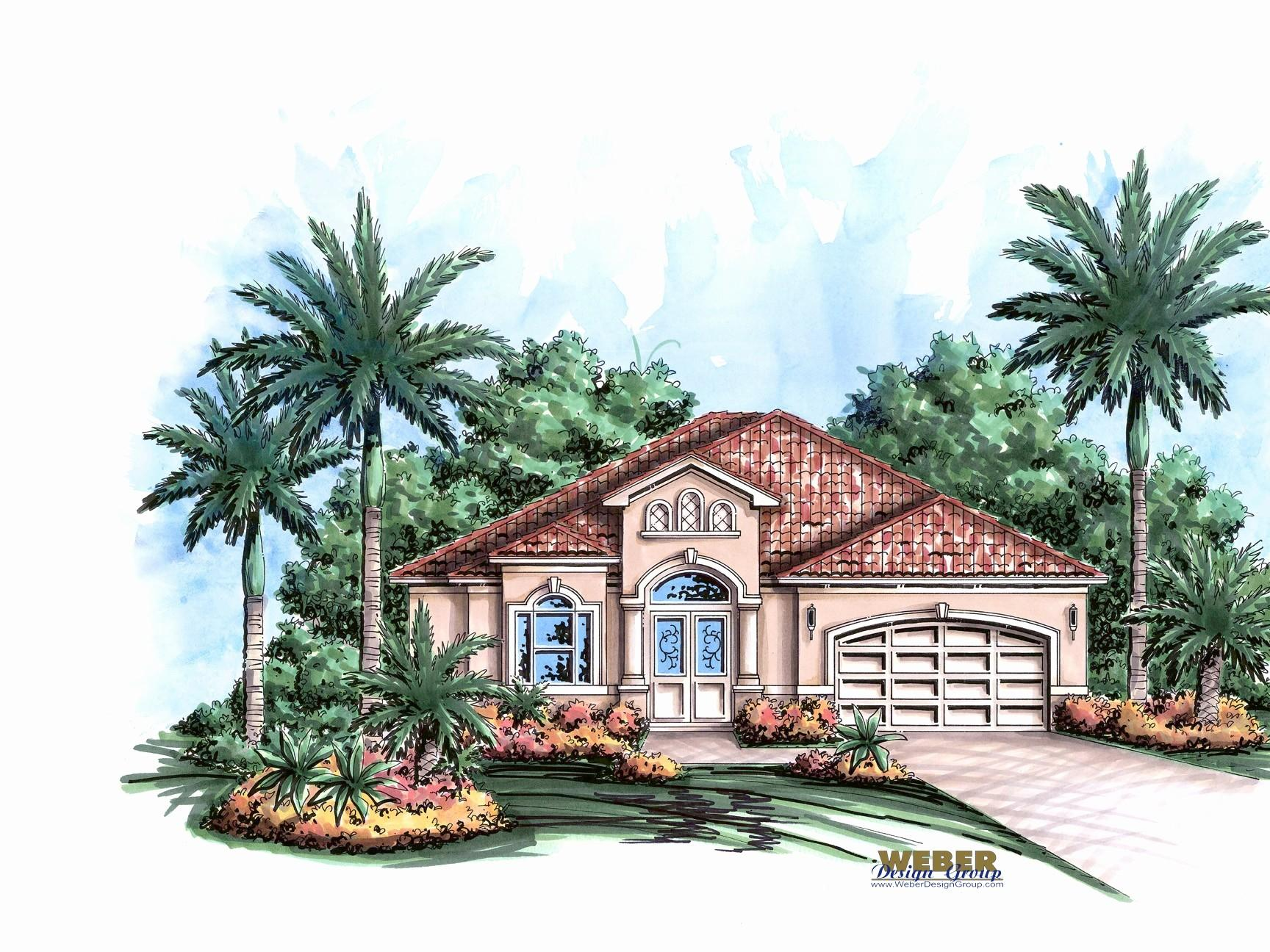 Caribbean House Plans Elegant Small Style