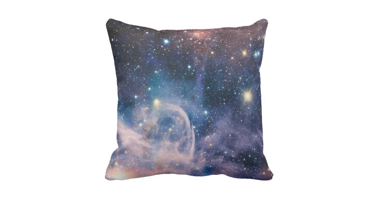 Carina Nebula Carl Sagan Quote Throw Pillow Zazzle