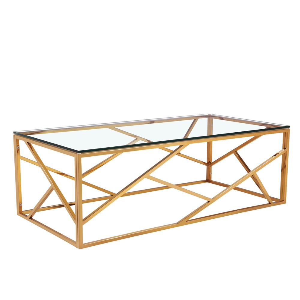 Carole Gold Coffee Table Xcella