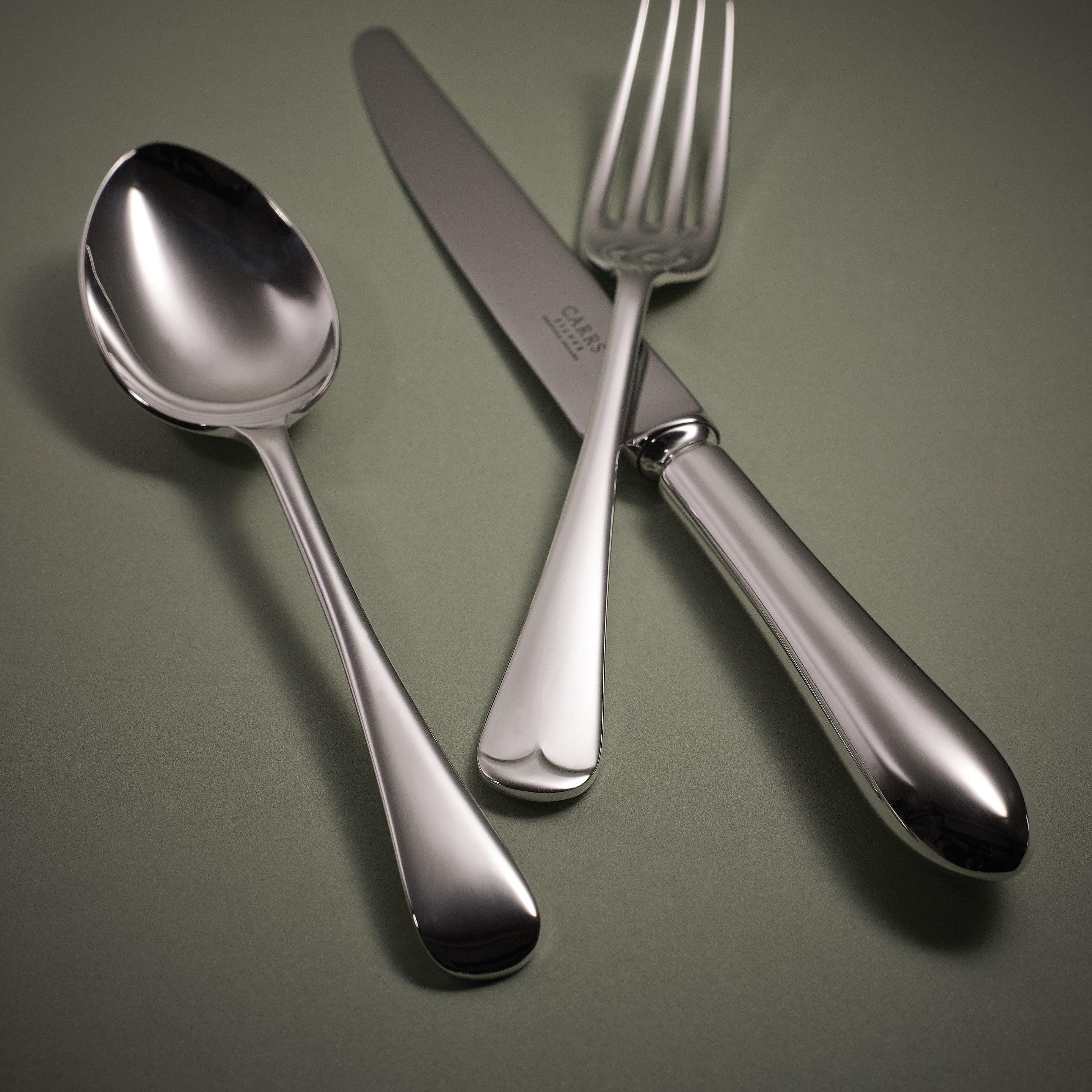 Carr Solid Silver Cutlery Flatware Various Designs