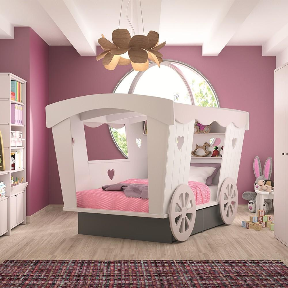 Carriage Kids Bed Mathy Bols Single Beds Cuckooland